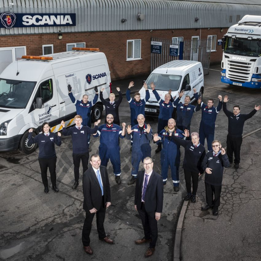 TruckEast Norwich win Scania Depot of the Year thumbnail image