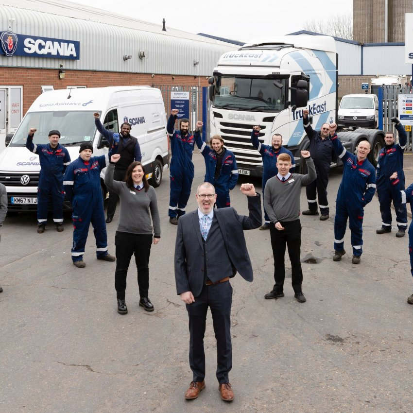 Norwich victorious in Scania's Depot of the Year thumbnail image