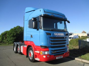 Scania R410 KU14 OMF Highline Streamline