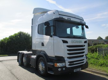 Scania R450 KU15 FJE Highline Streamline