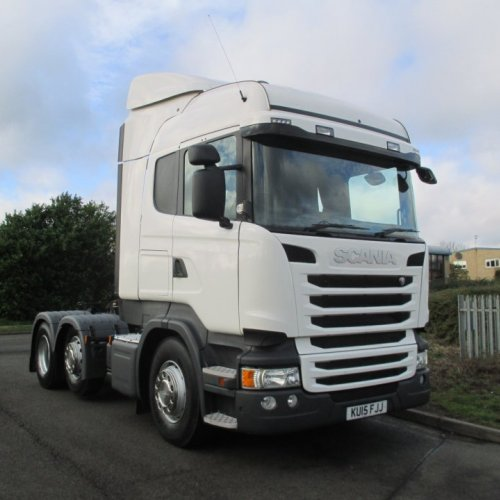 Scania R450 KU15 FJJ Highline Streamline